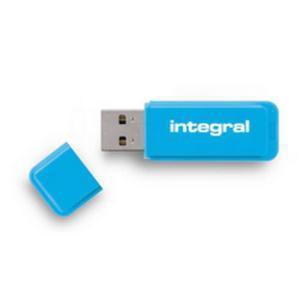 Integral Neon USB Drive Blue 16GB