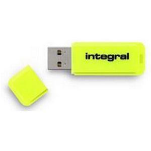 IntegralNeonUSBFlashDrive Yel32GB