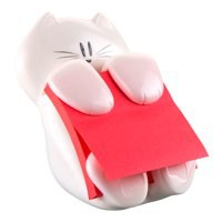 Post-it Cat Z-Note Dispenser and One Pad 76x76mm Ref CAT-330