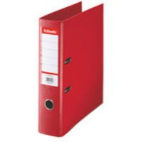 Esselte Pvc L/A File 70mm A4 Red 811330