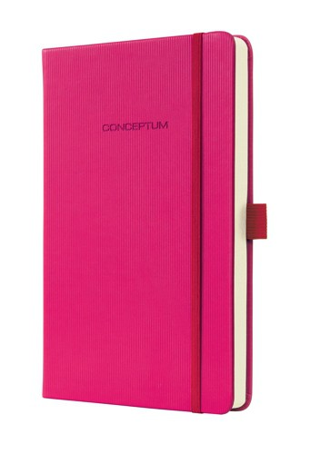 Sigel Conceptum Notebook Hardcover Classy Softwave surface Deep Pink lined 135x203x20 mm