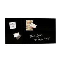 Sigel Artverum Magnetic Glass Board Black 910x460x15mm