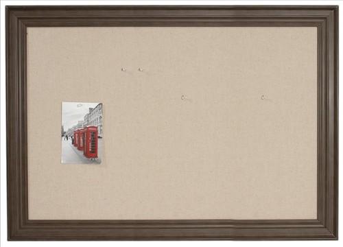 Invo Linen Notice Board 350x600mm