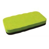 Image for 5 Star Elite Drywipe Eraser Magnetic Lime Green