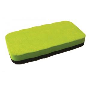 invo Magnetic Drywipe Eraser Lime Green