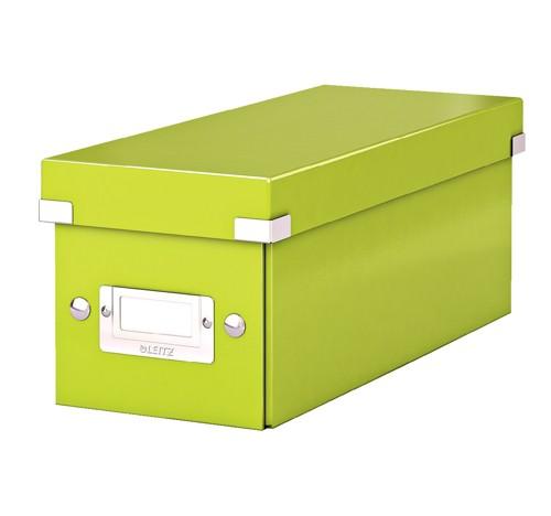 Leitz WOW Click & Store CD Box Green