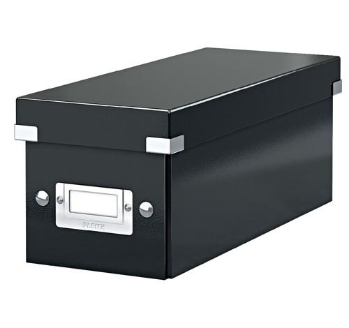 Leitz Click & Store CD Storage Box Black