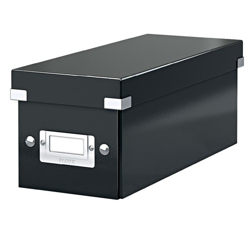 Leitz WOW Click & Store CD Box Black