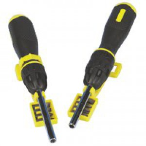 Stanley Multi-Bit Rachet Screwdriver 0-68-010