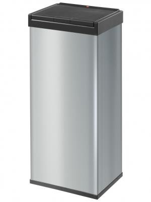 Hailo Big Box 60 Litre Large Capacity Touch Bin Silver