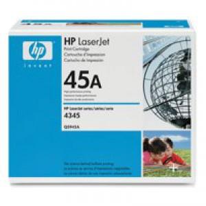 HP No.45A Laser Toner Cartridge Black Code Q5945A