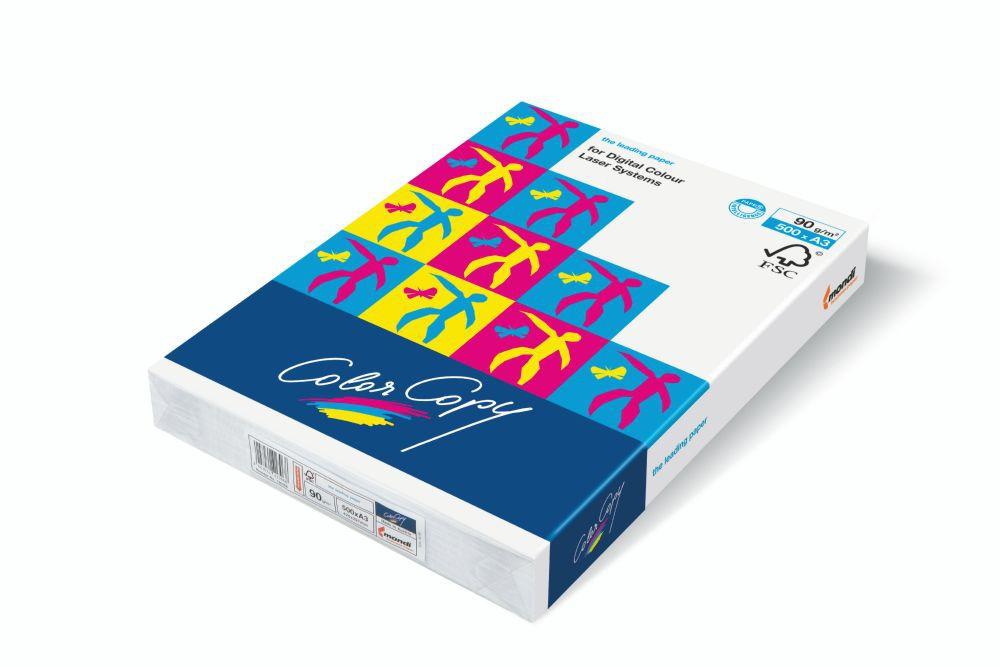 Color Copy Paper White Credit Material FSC4 Sra3 450x320mm 350Gm2 Pack 125