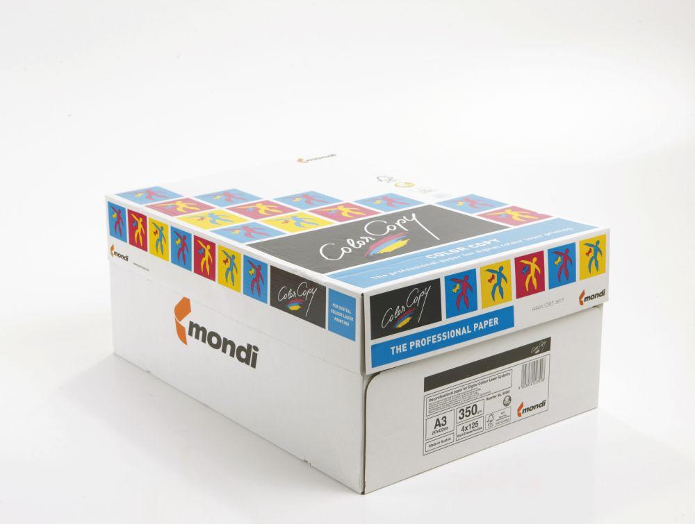 Color Copy Paper White Credit Material FSC4 A3 420x297mm 350Gm2 Pack 125