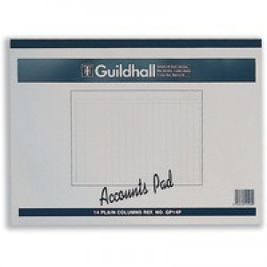 Guildhall Account Pad 14-Clmn Cash GP14