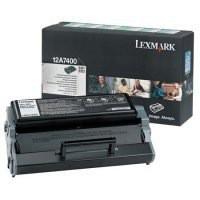 Lexmark E321/E323 Return Programme Toner Cartridge Black 12A7400