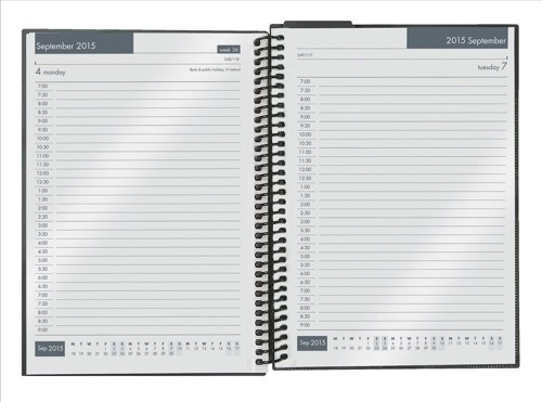 Collins 2015-2016 Academic Diary Day to Page A5 Assorted FP51M