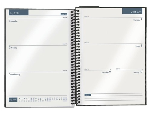 Collins 2015-2016 Academic Diary Week to View A5 Assorted FP53M