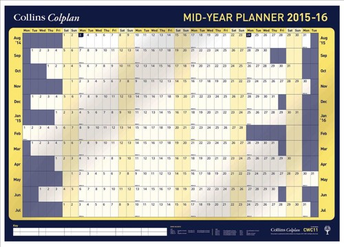 Collins 2015/16 Mid Year Planner