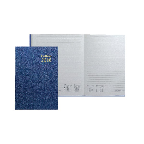 Collins 2016 Dy/Pg A5 Royal Diary 52 Blu