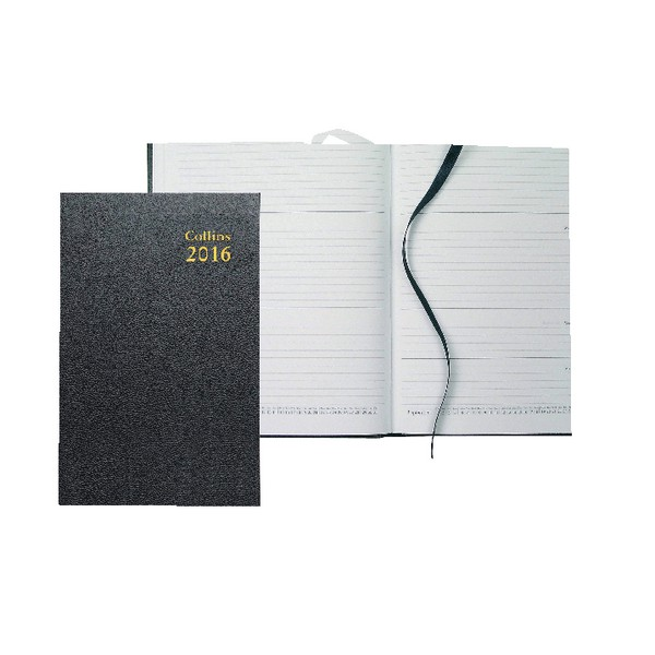Collins 2016 Wk/Vw A5 Royal Diary 35 Blk