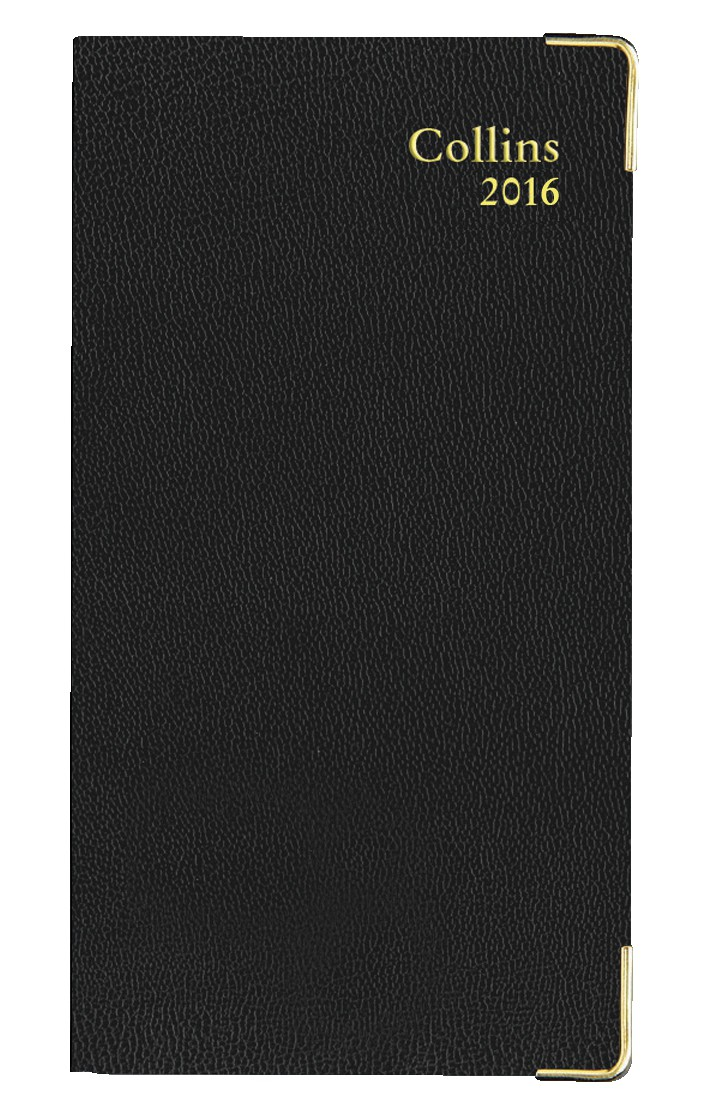 Collins 2016 Business Pocket Slim Diary Weekly Notes H152xW80mm Assorted Ref CNB