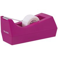 Scotch Fuchsia Tape Dispenser C38FUSCHIA
