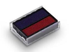 Trodat 6/4850/2 Replacement Ink Pad For Printy 4850 Red/Blue Code 81026