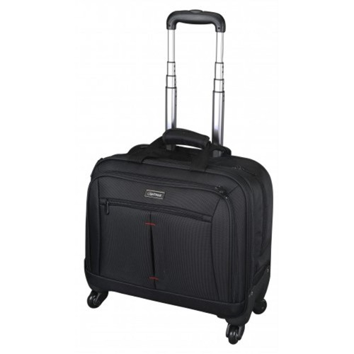 Lightpak STAR Business laptop trolley with 4 wheels