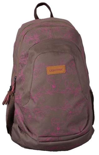 LightPak Lotus You Backpack Nylon Grey/Black