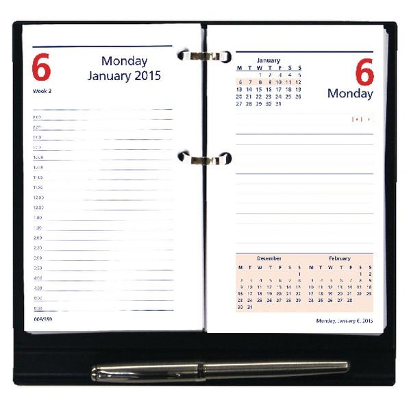 Collins Colplan 2016 Daily Desk Planner