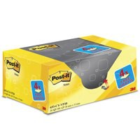 Post-it Canary Yellow 38x51mm 20 Pad Pack