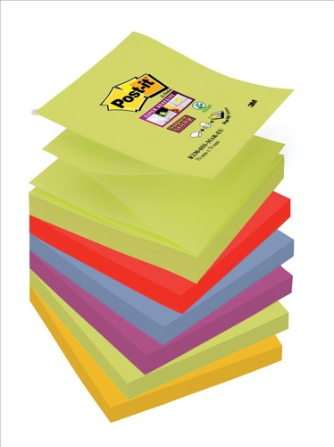Post-it SS Z-Notes Marrakesh 76x76 Pk6