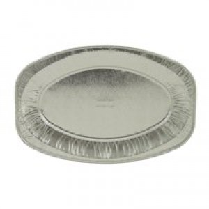 Caterpack 43cm Oval Foil Platter Pack 3