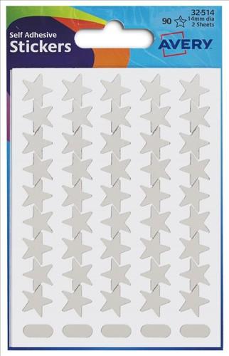 Avery Silver Stars 32-514
