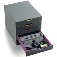 Durable Varicolor 5 Drawer Set Assorted