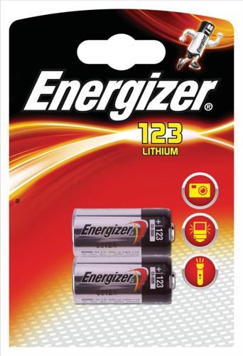 Energizer Photo 123 Lithium Camera Battery