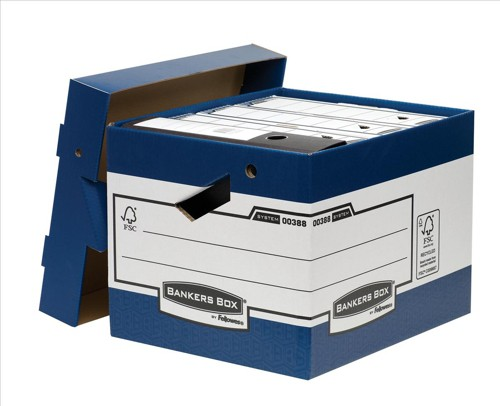 Bankers Box Presto Heavy Duty Ergo Box Packed 10