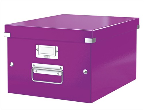 Leitz Click & Store Medium Box Purple