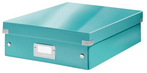 Leitz Organizer Box Click & Store Medium Ice Blue