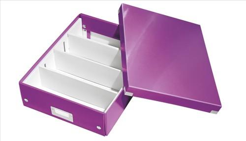 Leitz Organizer Box Click & Store Medium Purple
