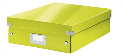 Leitz Organizer Box Click & Store Medium Green