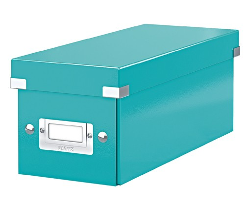 Leitz C&S CD Box Ice Blue 60410051