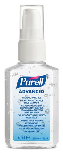 Purell Advanced Hygiene Hand Rub Personal Spray Pump 60ml