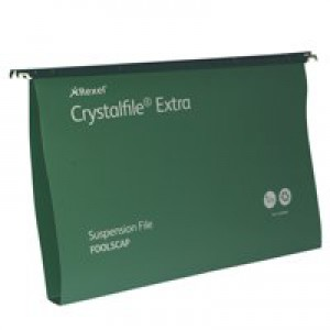 Crystalfile 30mm Green Susp Files 70631