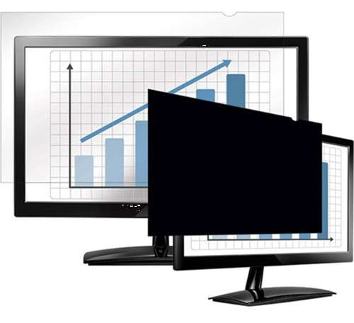 Fellowes 24in Widescreen Notebook/LCD Privacy Filter
