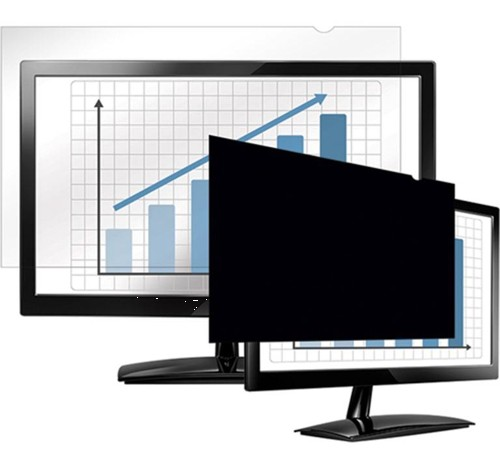 Fellowes Blackout Privacy Filter 24in Widescreen