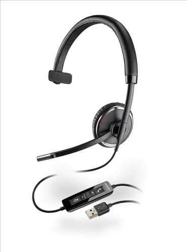 Plantronics Blackwire C510M Headset Monaural Corded