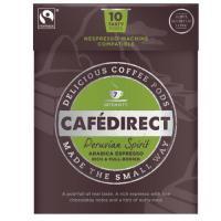 Cafe direct Peruvian Spirit Nespresso Machine Compatible Coffee Pod x10