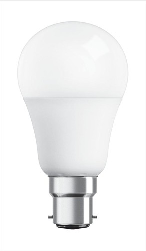 Osram Bulb LED GLS 10W 60W Equivalent Non Dimmable Bayonet Frost