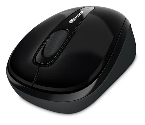 Microsoft 3500 WirelessMobile Mouse Blk